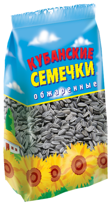 Семена подсолнечника Кубанские семечки обжаренные 500 г