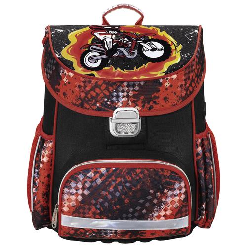 цена Hama Ранец Motorbike (139073), красный/черный онлайн в 2017 году