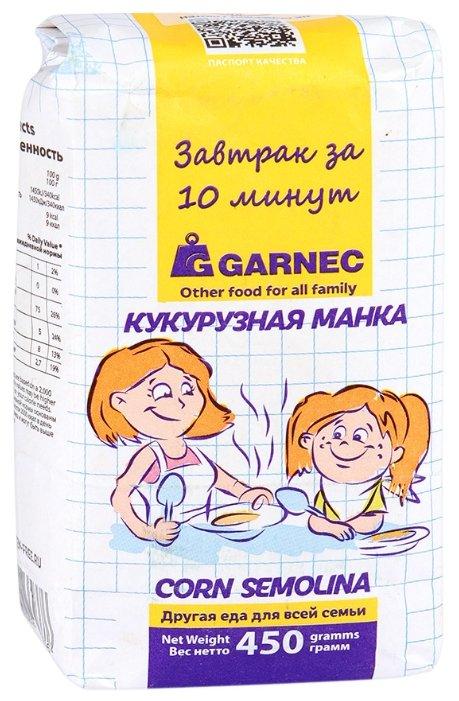 """Гарнец Крупа кукурузная """"Кукурузная манка"""" 450 г"""