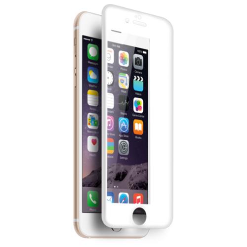 Защитное стекло CaseGuru 3D для Apple iPhone 6/6S whiteЗащитные пленки и стекла<br>