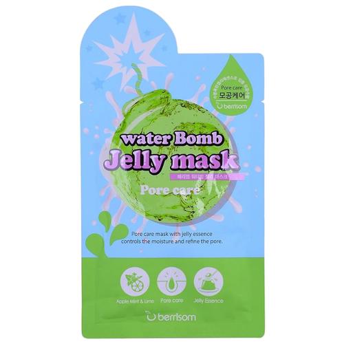 Berrisom Water Bomb Jelly Mask Сужающая поры тканевая маска, 33 мл