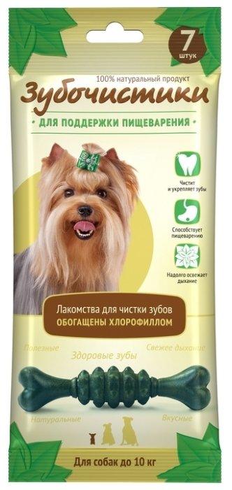 Лакомство для собак Зубочистики Мятные для мелких пород 7 шт 60 г 73303976