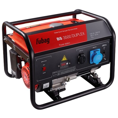 Бензиновая электростанция Fubag BS 3500 DuplexЭлектрогенераторы<br>