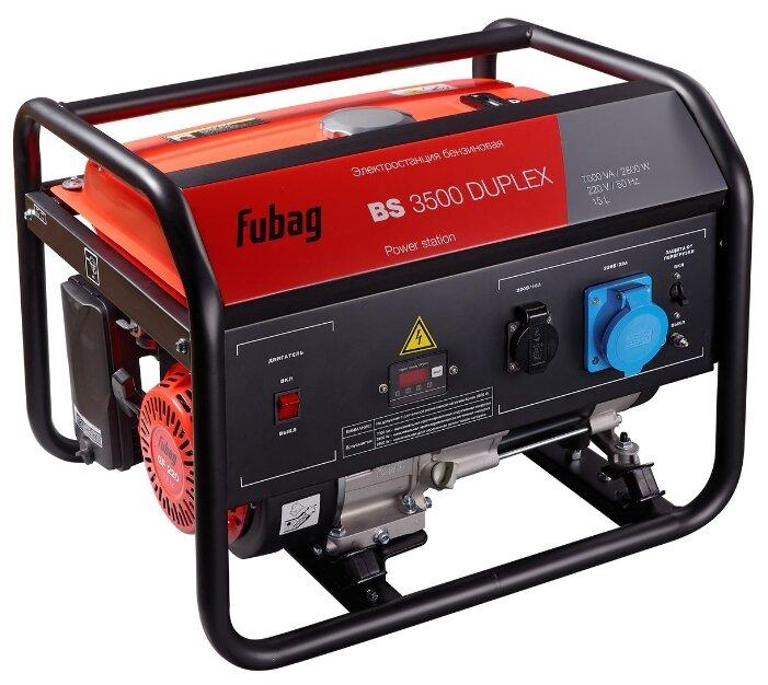 Бензиновый генератор Fubag BS 3500 Duplex (2800 Вт)