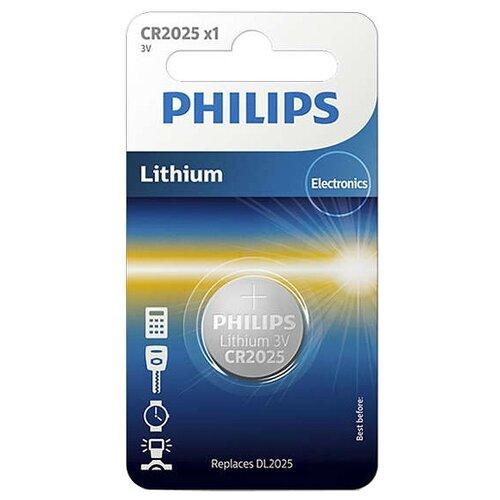 Купить Батарейка Philips Lithium CR2025 1 шт блистер