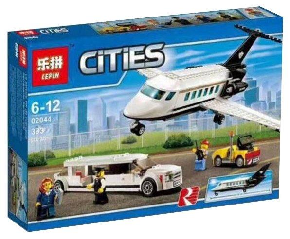Конструктор Lepin Cities 02044 Служба аэропорта для важных клиентов