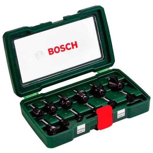 Набор фрез BOSCH 6 НМ-SET 2607019463 8MM-ХВ 6 шт.