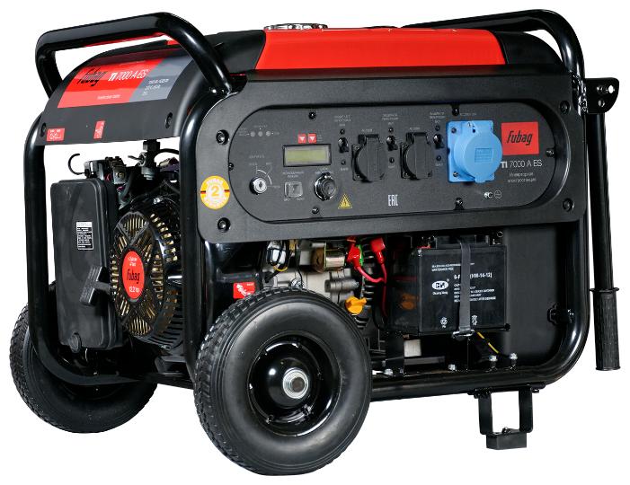 Бензиновый генератор Fubag TI 7000 A