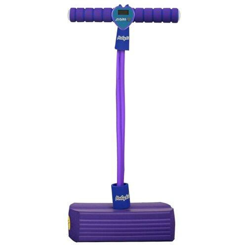 Тренажер для прыжков Moby Kids Moby-Jumper со счетчиком, светом и звуком фиолетовый