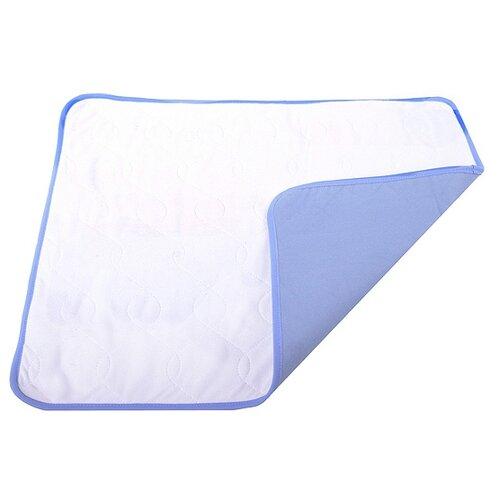 Пеленки для собак многоразовые впитывающие OSSO Fashion П-1003 90х70 см белый 1 шт. белый/синий