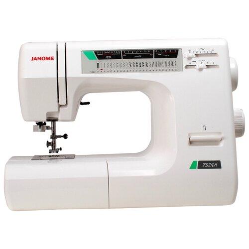 Швейная машина Janome 7524A, белый
