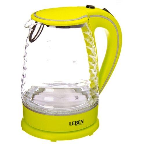 Чайник Leben 475-133, желтый