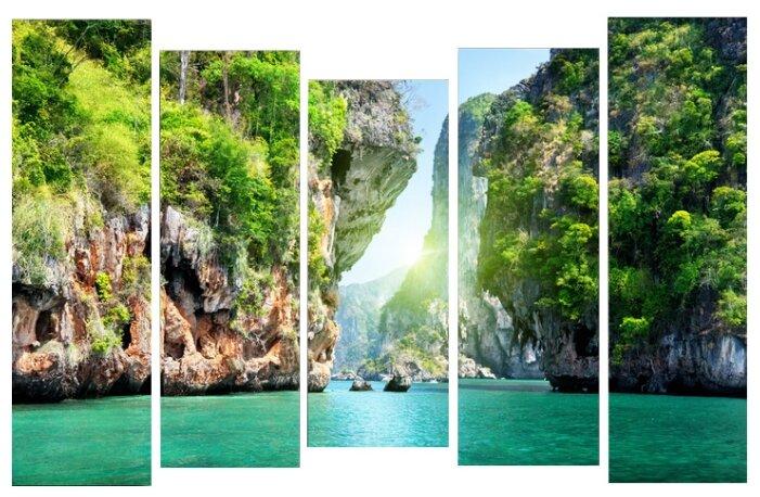 Модульная картина KARTINA style Умиротворение воды 120х80 см