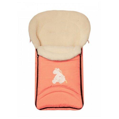 Купить Конверт-мешок Womar North pole в коляску 95 см 2 оранжевый, Конверты и спальные мешки