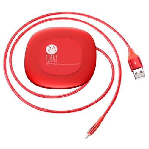 Купить Кабель Baseus USB - Lightning (CALRX-09) 1.2 м красный