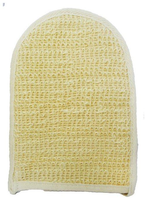 Мочалка Beauty format на руку из крапивы и хлопка (45586-4001)