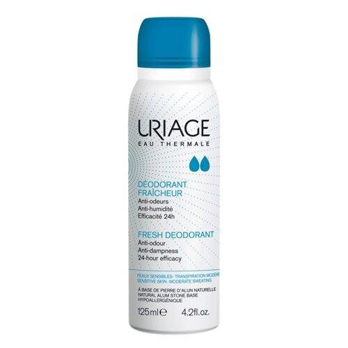 Дезодорант спрей Uriage освежающий с квасцовым камнем, 125 мл дезодорант uriage tri actif купить