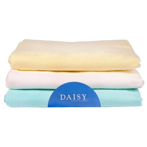 Купить Многоразовые пеленки Daisy фланель 90х120 комплект 3 шт. унисекс, Пеленки, клеенки
