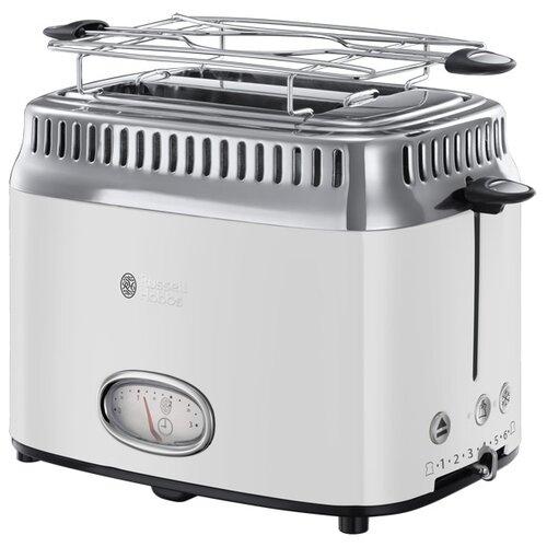 Тостер Russell Hobbs 21683-56 Retro, белый тостер russell hobbs 21395 56