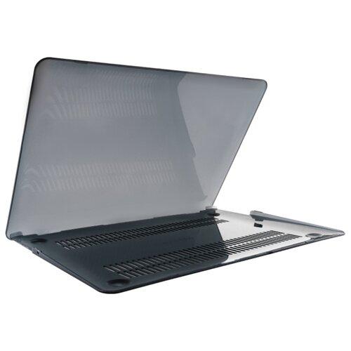 цена на Чехол-накладка vlp Protective plastic case for MacBook Air 13 черный