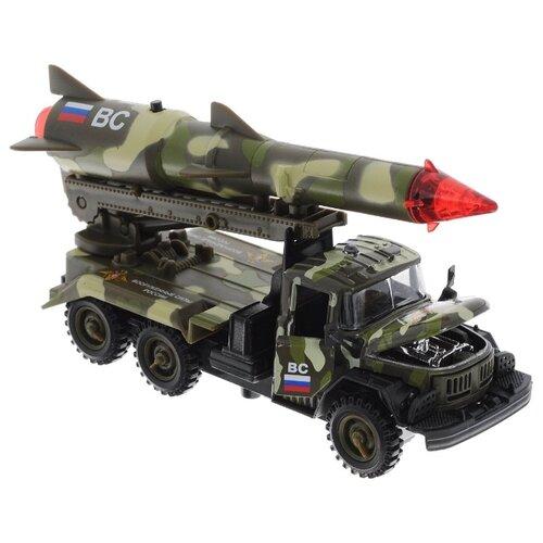 Купить Ракетная установка ТЕХНОПАРК ЗИЛ-131 Вооруженные силы 1:43 21 см, Машинки и техника