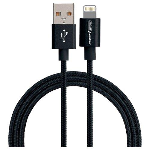 Купить Кабель Smarterra USB - Lightning (STR-AL002M) 1 м черный