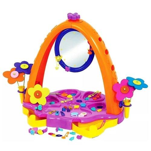 Фото - Салон красоты Полесье Юная принцесса в коробке (4083_PLS) полесье набор игрушек для песочницы 468 цвет в ассортименте