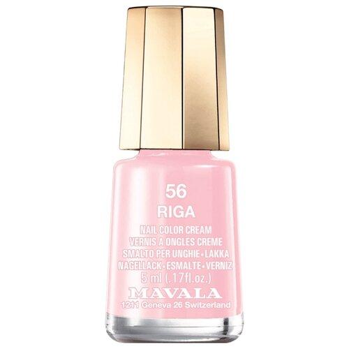 Лак Mavala Nail Color Cream, 5 мл, оттенок 56 Riga лак mavala nail color cream 5 мл оттенок 315 amethyst