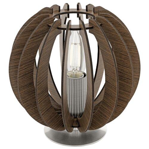 Настольная лампа Eglo Cossano 95793, 40 Вт настольная лампа eglo 94956 cossano