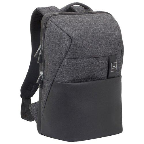 Рюкзак RIVACASE 8861 black melange рюкзак rivacase 8165 black