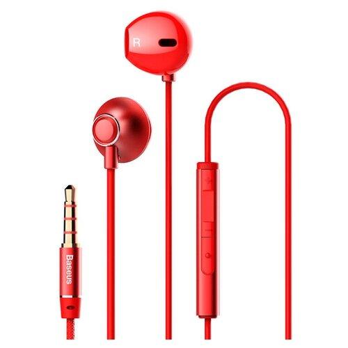 Наушники Baseus H06 red