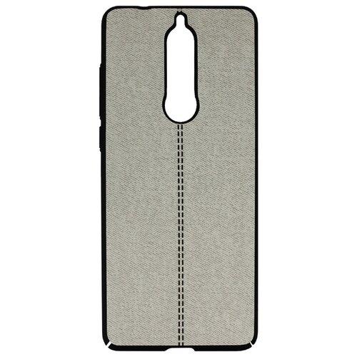 Чехол Volare Rosso Jeans для Nokia 5.1 (2018) серый