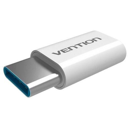 Купить Переходник Vention USB Type-C - microUSB (VAS-S10) белый