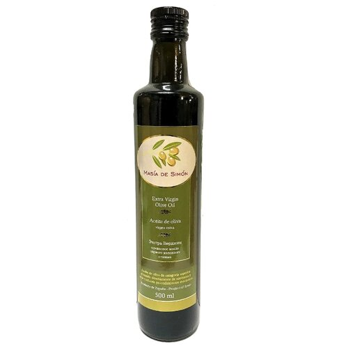 Masia de Simon Масло оливковое Extra Virgin 0.5 лМасло растительное<br>