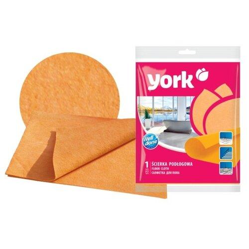 Салфетка для пола York универсальная оранжевыйТряпки, щетки, губки<br>