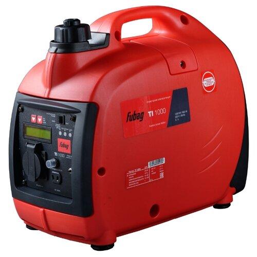Бензиновый генератор Fubag TI 1000 (838978) (900 Вт) fubag ti 1000