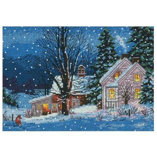 Купить Dimensions Набор для вышивания крестиком Тихая ночь 18 х 13 см (70-08935), Наборы для вышивания