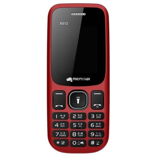 Купить Телефон Micromax X512 красный