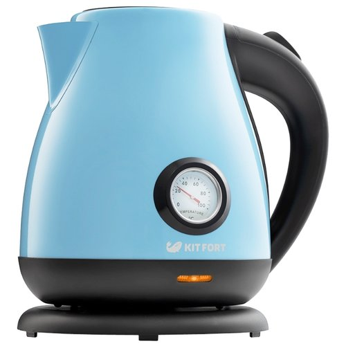 Чайник Kitfort KT-642-2, голубой чайник kitfort kt 642 1 розовый