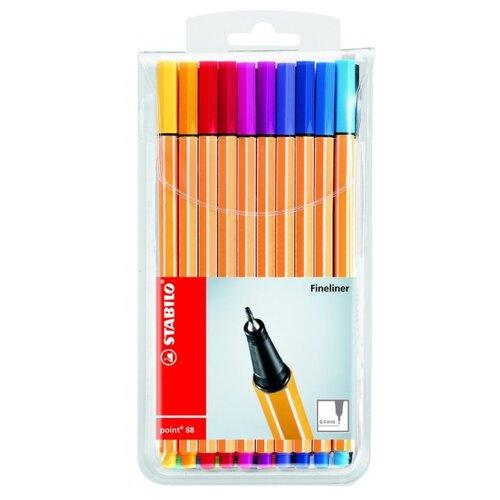 STABILO набор капиллярных ручек Point 88 20 цветов, 0.4 мм (8820)