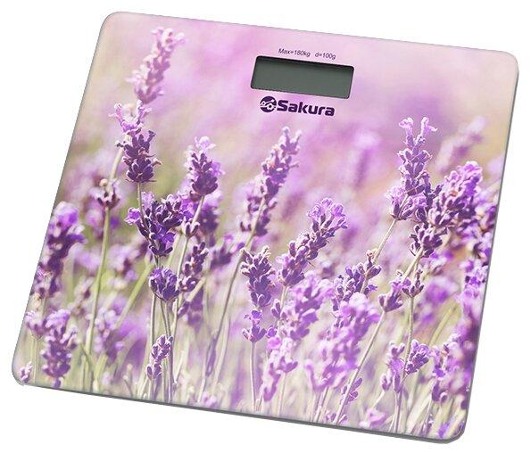 Sakura Весы Sakura SA-5072LF лаванда