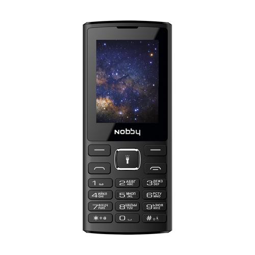 Телефон Nobby 210 черный