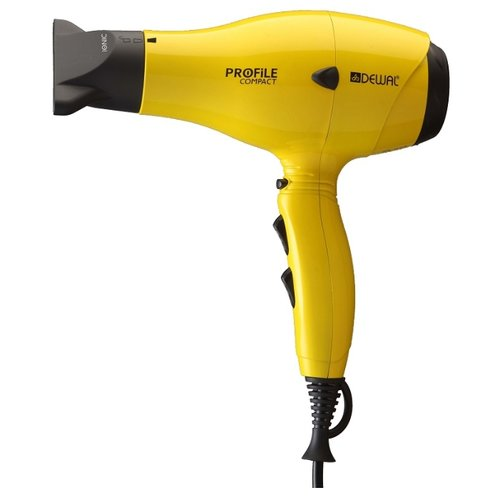 Фен DEWAL 03-119 Profile Compact yellow  - купить со скидкой