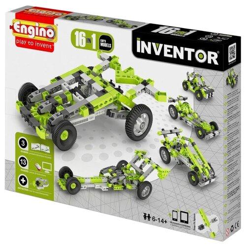 Купить Конструктор ENGINO Inventor (Pico Builds) 1631 Автомобили, Конструкторы