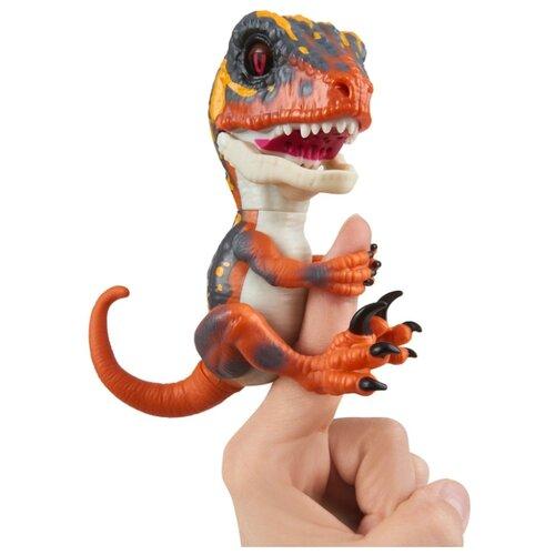 Купить Интерактивная игрушка робот WowWee Fingerlings Untamed Raptor Series 1 Блейз, Роботы и трансформеры