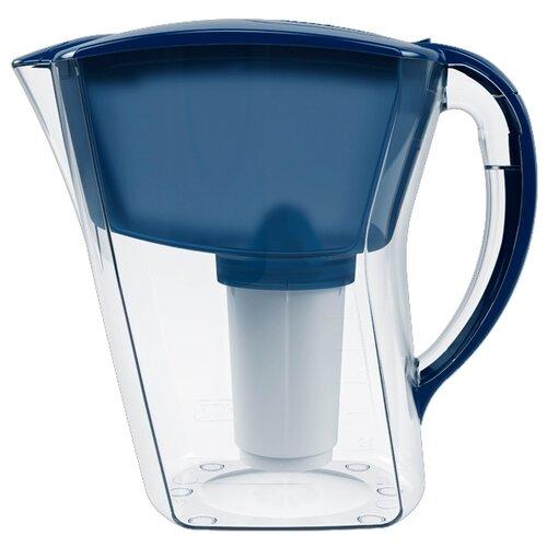 Фильтр кувшин Аквафор Аквамарин 1.7 л синий кувшин аквафор аквамарин p81а5f цикламеновый