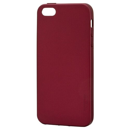 Чехол X-LEVEL Guardian для Apple iPhone 5/5S/SE бордовый