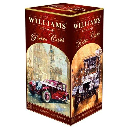 Чай черный Williams Retro cars City scape , 250 г чай зеленый williams heraldic