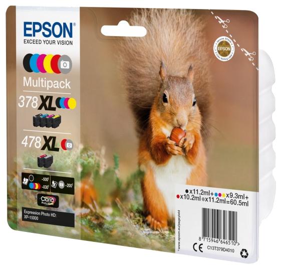 Набор картриджей Epson C13T379D4010/C13T379D4020