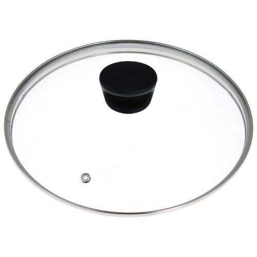 Крышка Tefal стеклянная 04090128 (28 см) прозрачный/черный